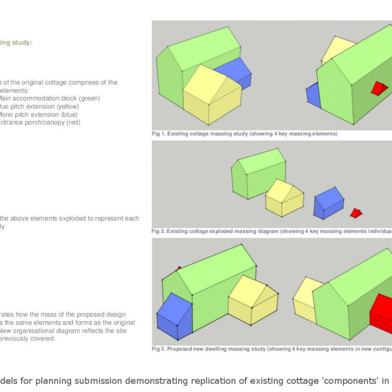 Extract from Design and Access Statement for planning submission